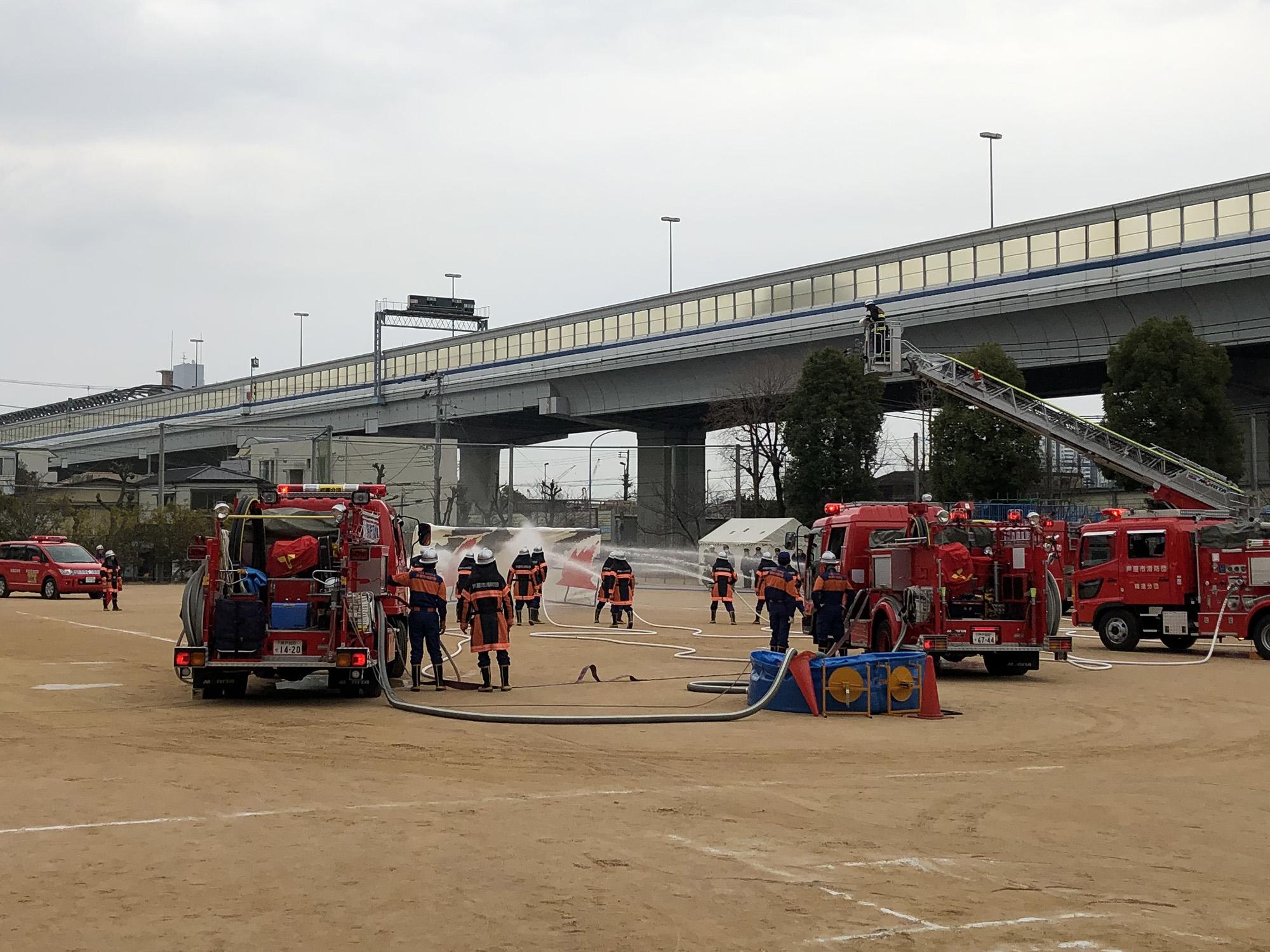 【報告】2020年1月12日 芦屋市消防出初式 開催