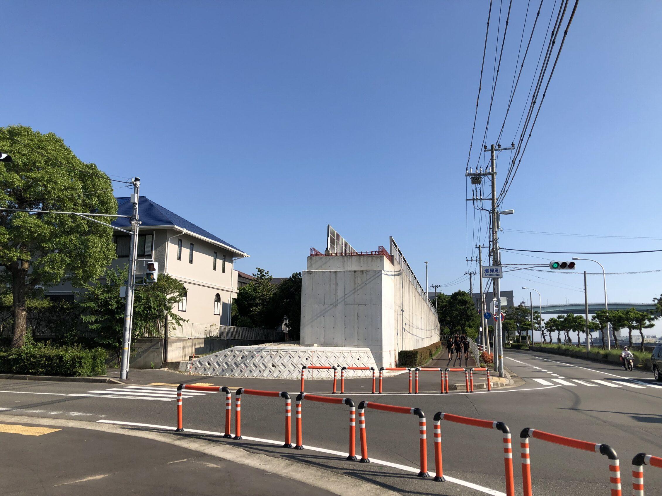 芦屋浜線歩道橋上部工架設工事がどうなる??